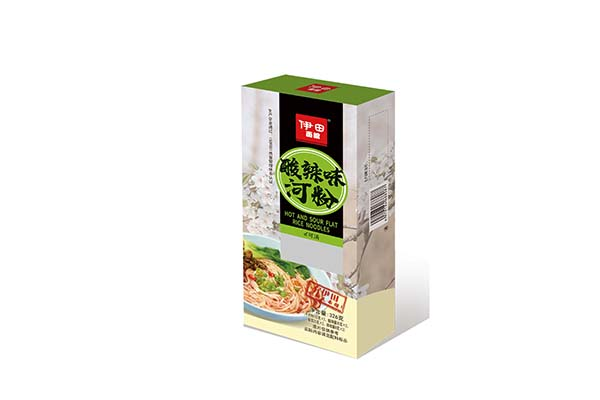 Hot and Sour Flavor Flat Rice Noodles